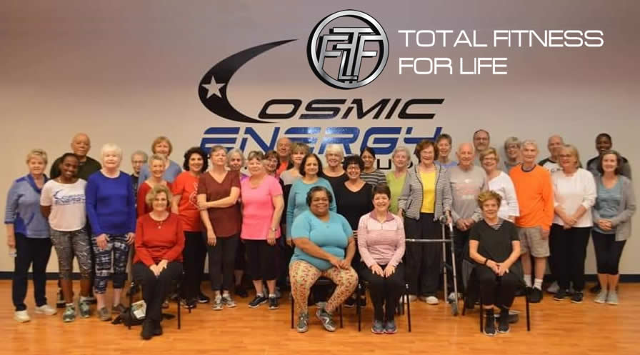 Senior Fitness at Total Fitness for Life